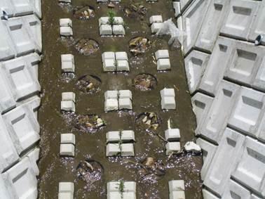 河床の洗掘・災害を防ぐ護床ブロック「床張ブロック」「ストーンブロック」