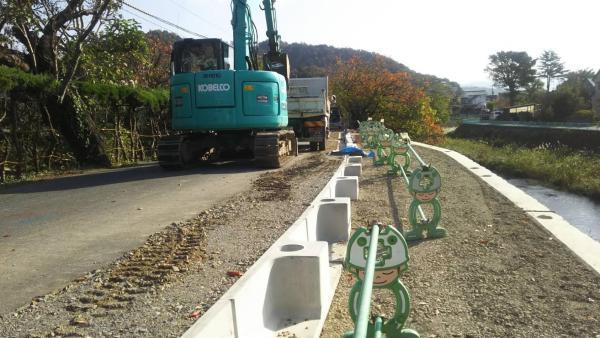 ガードレール基礎の施工方法