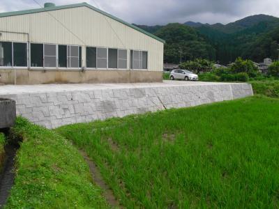 護岸・造成工事で簡単に施工可能!大型積ブロック『レベロック』
