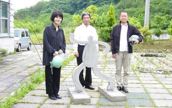 【プレキャスト人形(オブジェ)】 沖縄県 フナキ・細矢設計共同体 フナキ先生・細矢先生
